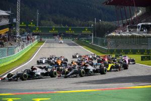 Départ du GP de Belgique 2020 de F1