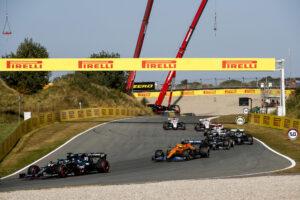 Le départ du Grand Prix des Pays-Bas de Formule 1