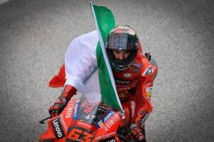 Francesco Bagnaia, vainqueur du GP de Saint-Marin de MotoGP