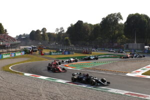 Le départ du Grand Prix d'Italie 2021 de Formule 1