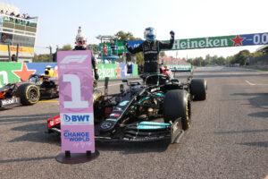 Valtteri Bottas, vainqueur de la qualification sprint de Monza